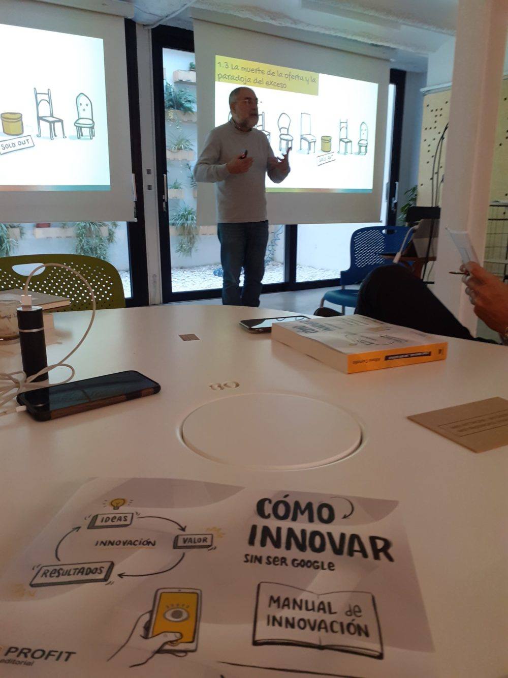 Seminario «Cómo innovar sin ser Google»
