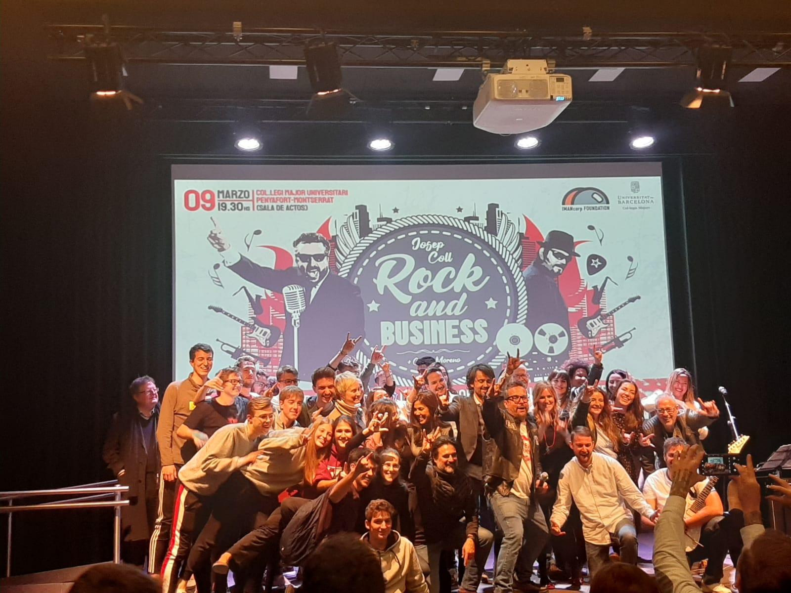 """Rock&Business """"Cómo crear una Start-up de éxito con 3000 euros…al cuarto intento"""""""