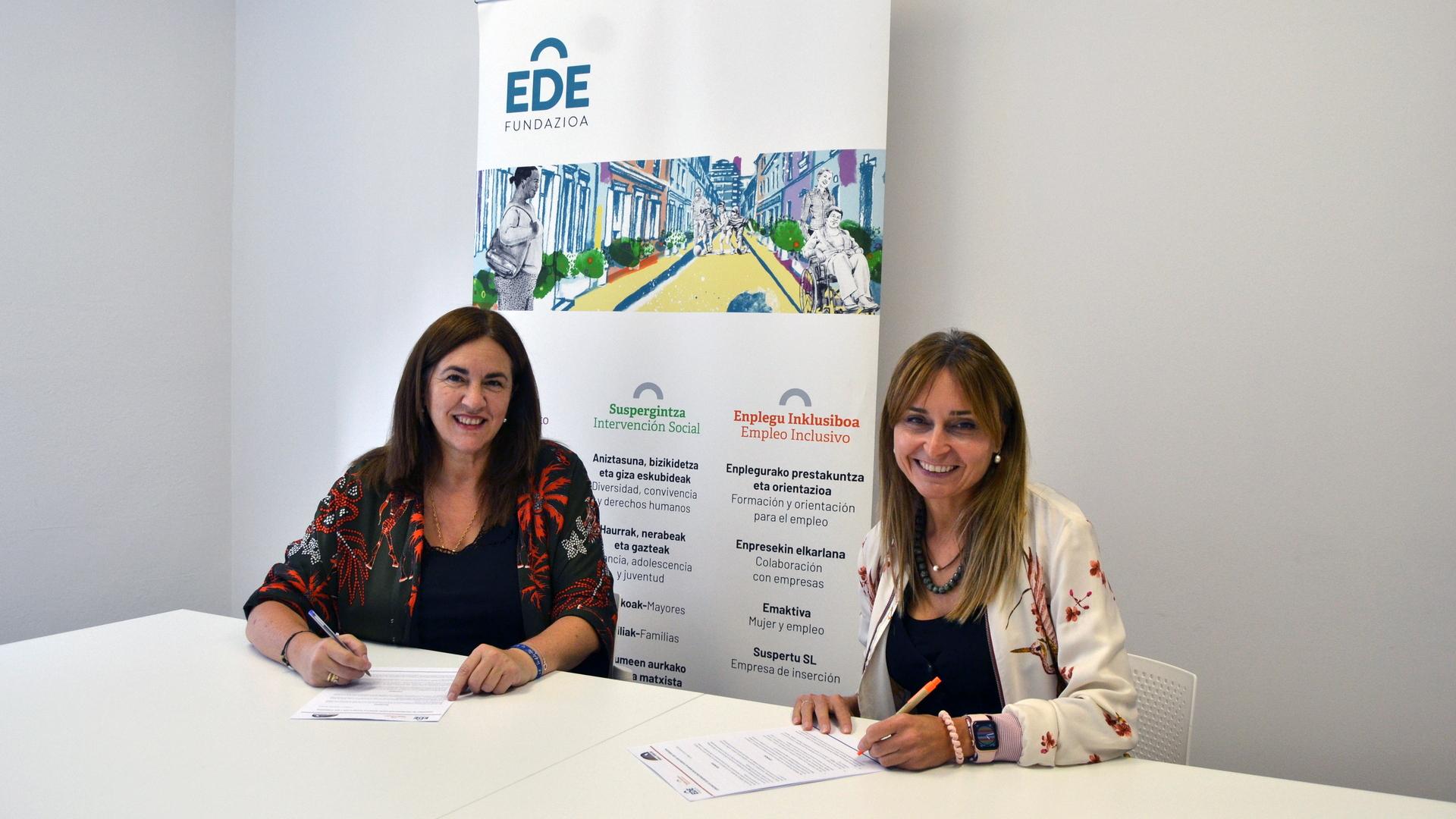 EDE Fundazioa e ImanCorp Foundation colaboran por la integración social y la igualdad